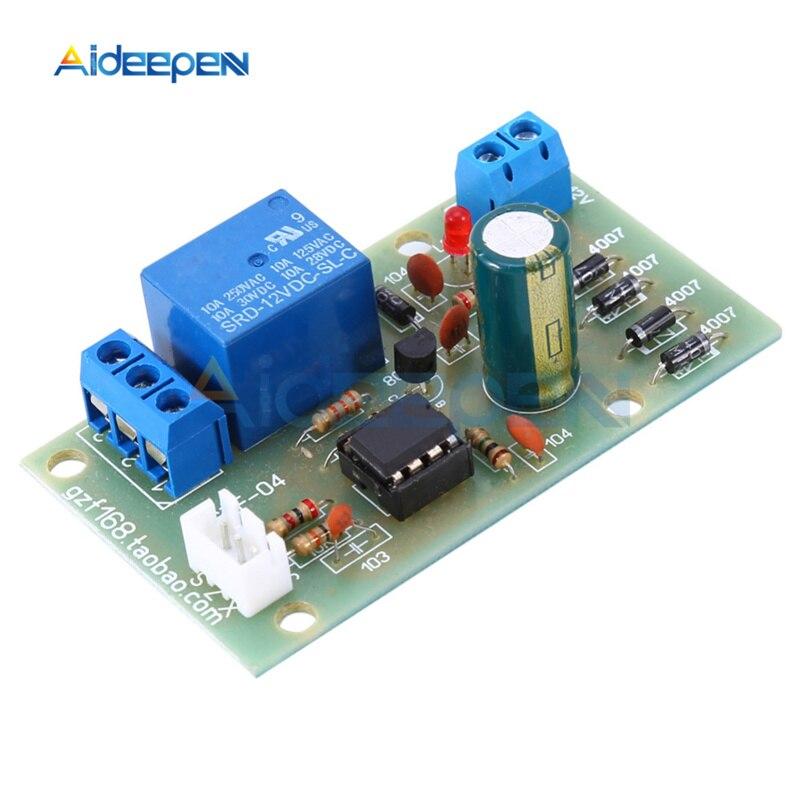 Módulo de Sensor de nivel de líquido de 12V, Sensor de detección de nivel de agua, tablero de flujo de combustible, Sensor de flujo de agua, caudalímetro