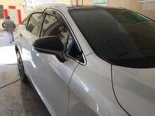 Para Lexus RX RX200t RX350 RX450h 2016 2017 Side Janela Visor Ventilação Sombra Guarda Vento Defletores de Chuva Sol Toldos Abrigos cobre