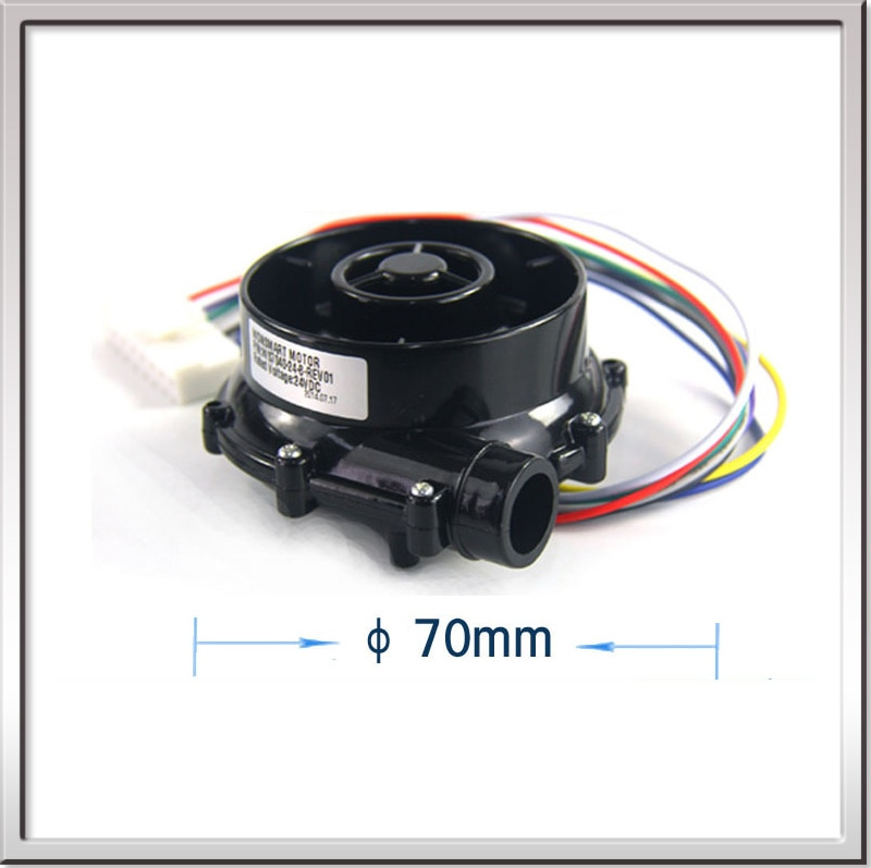 WS7040-12-X200 70*40mm12V High Speed Micro Brushless DC Fan Excellent Performance 12V Small DC Blower with 17m3/h 5Kpa Pressure
