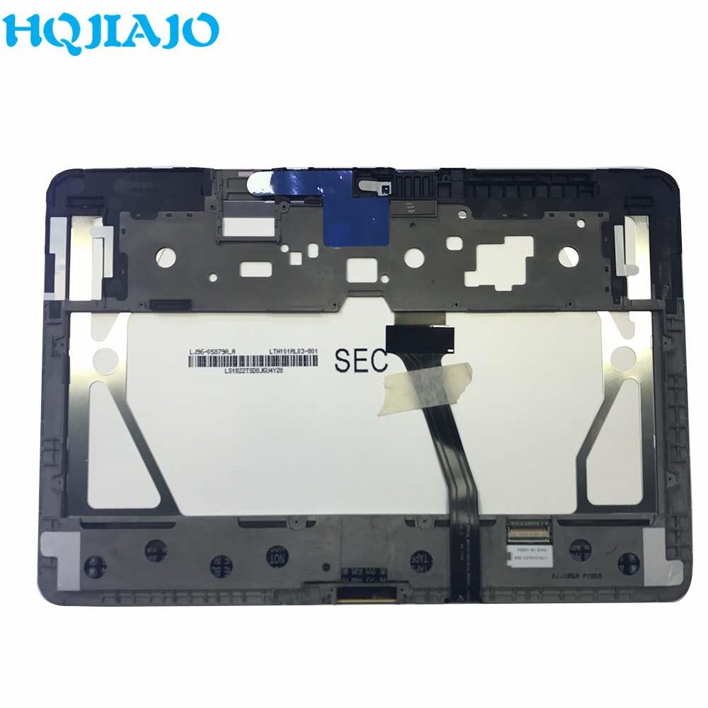 Tablet lcd para samsung galaxy tab 10.1 p7500 p7510 p7501, display lcd, touch screen, digitalizador, montagem de quadro para samsung p7500 lcd lcd