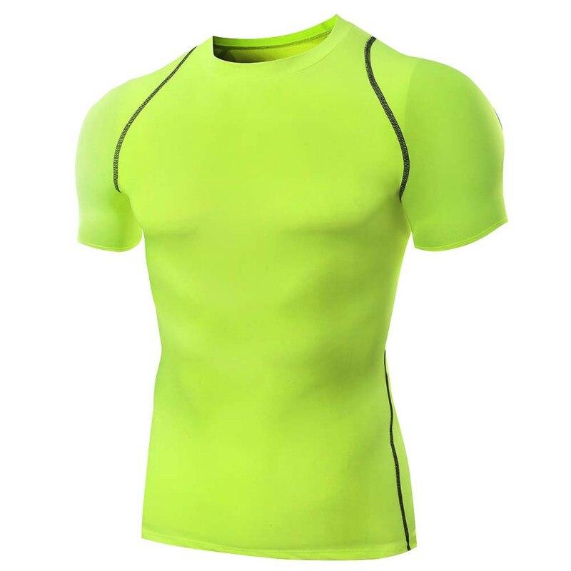 Quick Dry Fitness ireland jérsei de futebol-Em Torno Do Pescoço Fino Camisa de Manga Curta Tops T-shirt Dos Homens Respirável Esportes Ao Ar Livre