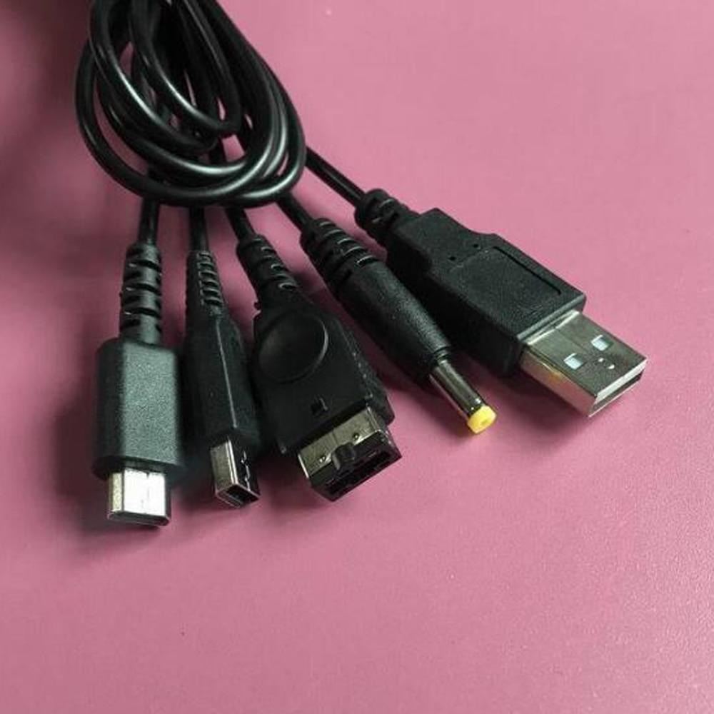 50pcs 1.8M Carregador USB De Carregamento Leva Cabos Cabo para P-SP2000 P-SP3000 ND-SL ND-SI 3-DS SP Carregamento Cabos