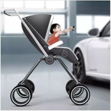 Fashion Light Folding Stroller Can Sit Can Lie The Baby Stroller Pram Baby High Landscape Umbrellas Trolley Car