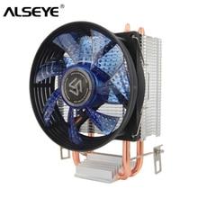 Chłodnica procesora ALSEYE 2 Heatpipe 90mm wentylator procesora dla Intel LGA 775/1151/1155/i AMD FM2/FM1/AM3/AM2