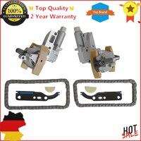 AP01 Timing Chain Tensioners Kit Left & Right + 2 Chains for Audi A6 A8 VW Touareg Phaeton 077 109 087 088 C E P 058 109 229 B