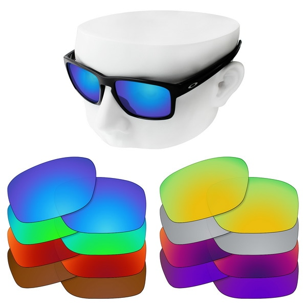 OOWLIT Polarized Replacement Lenses for-Oakley Sliver OO9262 Sunglasses