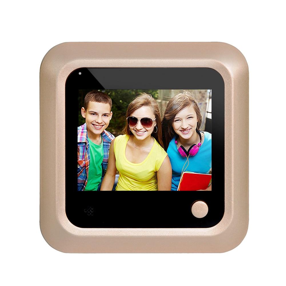 2,4 LCD Digital Video puerta visor mirilla seguridad puerta ojo cámara de vigilancia
