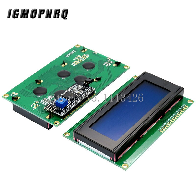 LCD Display Monitor LCD2004 2004 20X4 5V Charakter Blau Hintergrundbeleuchtung Bildschirm Und IIC I2C