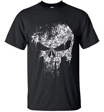 2020 streetwear Punisher Crâne hip hop Super Héros t chemises Hommes t-shirts Hauts t-shirts top marque mince vêtements mma pp crossfit