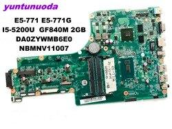 Original für ACER E1-471G motherboard E1-471G DAZQSAMB6E0 GT630M 1g getestet gute freies verschiffen