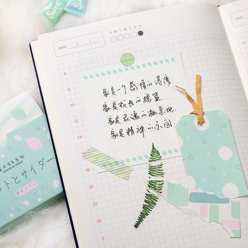 48 hojas bonitos perros Rana Kraft Nota de papel Pad nota Tarjeta de almohadillas papelería creativa coreana Oficina escuela suministros para niños regalo