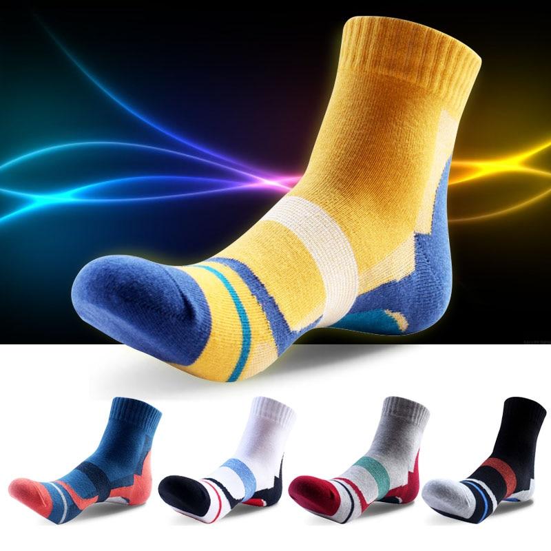 5 par/set calcetines de algodón desodorante para hombre, calcetines de atleta, color brillante, diseño de deporte, calcetines cortos