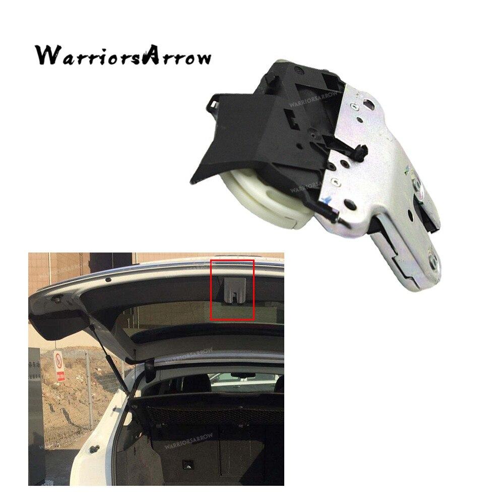 Guerrero maletero trasero Cierre de tapa de maletero pestillo para VW Eos Jetta MK5 Passat B6 B7 CC para Audi A4 Avant 2005-2016 4F5827505D