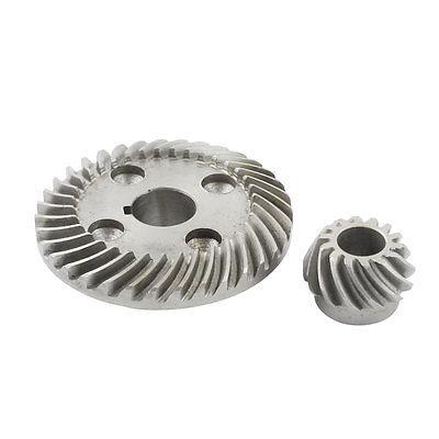 Elétrica Pinhão Anel angle grinder Spiral Bevel Gear Set para Hitachi 100