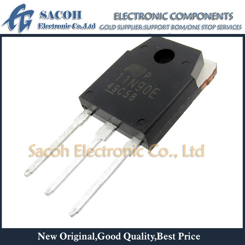 Envío gratis 10 Uds FMH11N90E 11N90E 11N90 TO-3P 11A 900V Transistor MOSFET