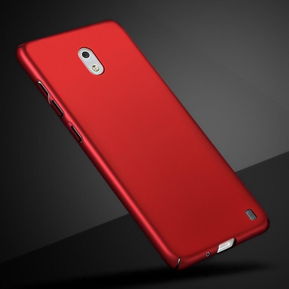 Fajny projekt Etui na telefony Nokia 2 skrzynki pokrywa Nokia2 2017 Matte Hard Fundas dla Nokia 2 TA-1029 TA-1035 pełna plastikowa obudowa Etui