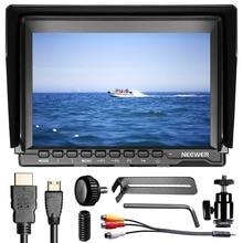 Neewer NW74K 7 Ultra HD 4K 1280x800 IPS écran caméra moniteur de terrain, 1610/43 Ratio daffichage réglable pour Sony Canon Nikon