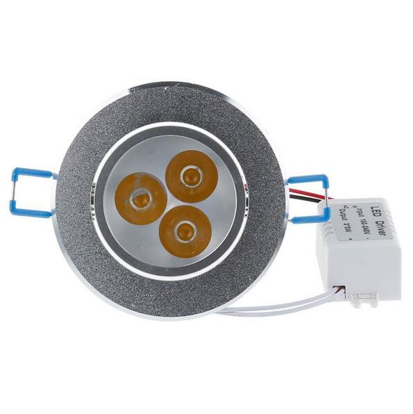 LED النازل 9W/12W/15W راحة ضوء مصباح لمبة سائق AC85-265V دافئ/بارد الأبيض المنزل داخلي الإضاءة شحن مجاني