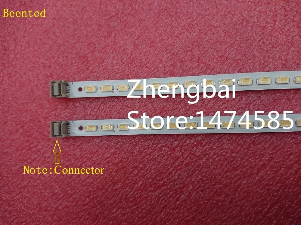 Nuevo 2 uds * 56LED 455mm 40 pulgadas tira de LED para iluminación trasera para trineo 2010SVS40