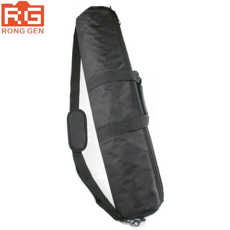 Negro 100cm 80cm 75cm 70cm 65cm 60cm 55cm acolchado correa de la cámara del trípode bolsa Estuche De Viaje para productos Gitzo Velbon Tripod bolsa para trípode