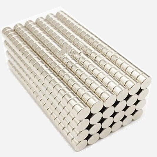 Бесплатная доставка 1000 шт диск Мини 5x3 мм редкоземельный сильный неодимовый магнит 5 мм x 3 мм Навальный супер магниты 5*3 мм