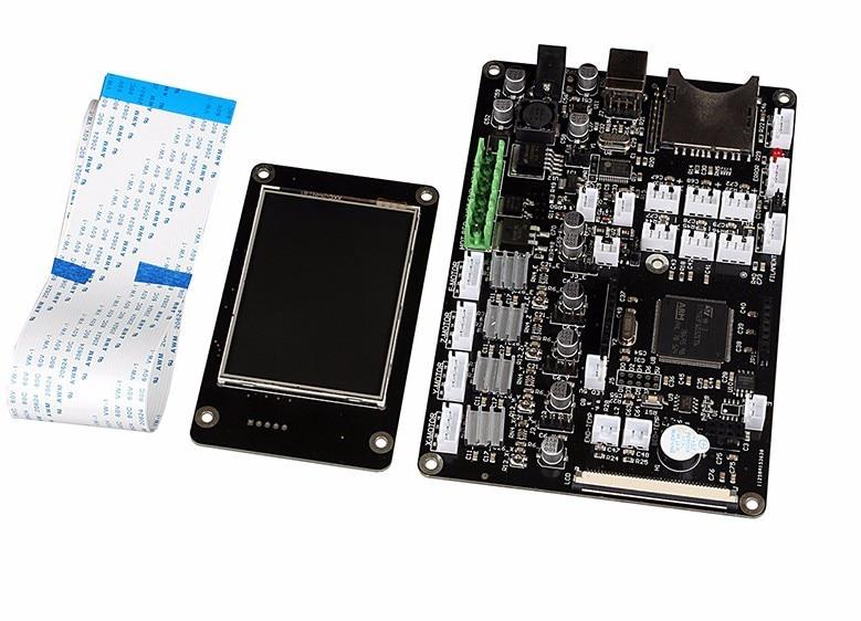 3d الطابعات اللوحة وحة التحكم 3d ملحقات الطابعة التحكم الرئيسية لوحة 2.8 بوصة تعمل باللمس واحد رئيس الحرارية