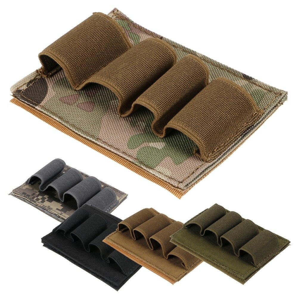 Nouveau Airsoft tactique chasse fusil de chasse coquille porte-munitions 4 support rond 12GA 5 couleur