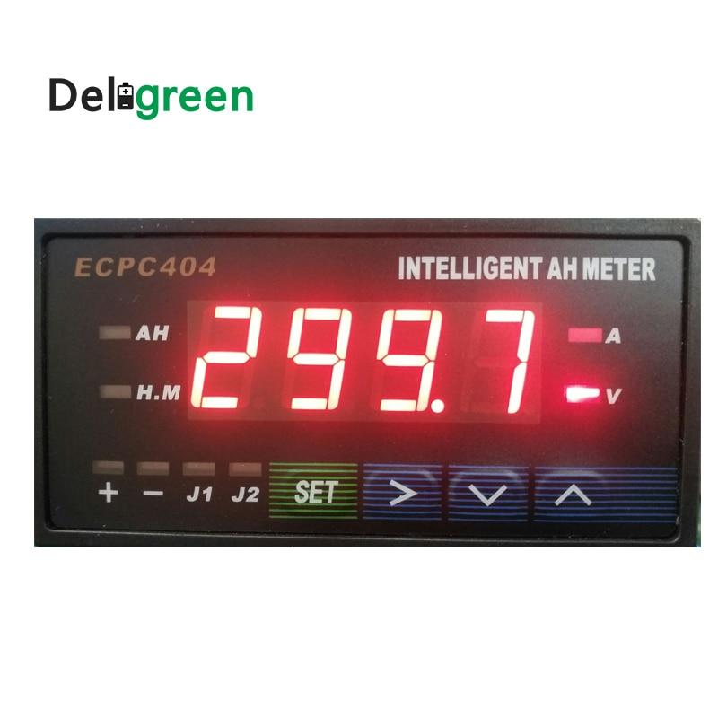 ديليجرين بائع حار! ذكي أمبير ساعة متر HB404 مع الأزرق/الأحمر شاشة ديجيتال ECPC404 JLD404 HB404