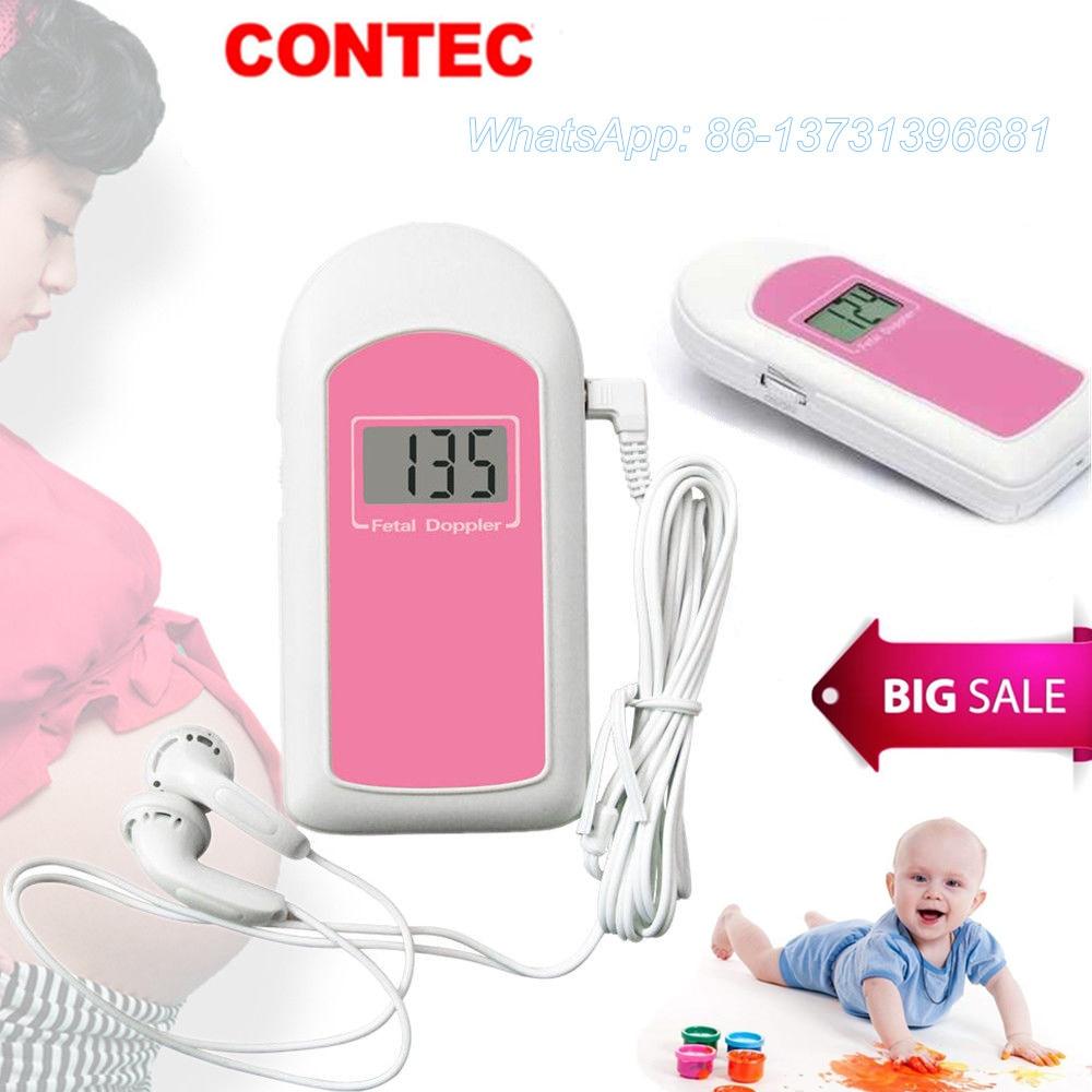 Карманный фетальный допплер, ЖК-монитор сердечного ритма, детский монитор, свободный гель, США/Китай склад BabySoundB