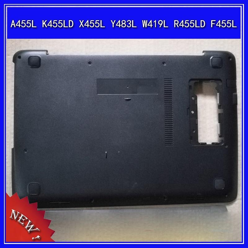 غطاء قاعدة سفلي للكمبيوتر المحمول غطاء أقل لـ ASUS A455L K455LD X455L Y483L W419L R455LD F455L D Shell