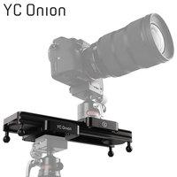 YC ONION Mini Camera DSLR Dolly Slider Portable Design Video Camera Track Slider With Adjustable Damping For Camera Phone Gopro