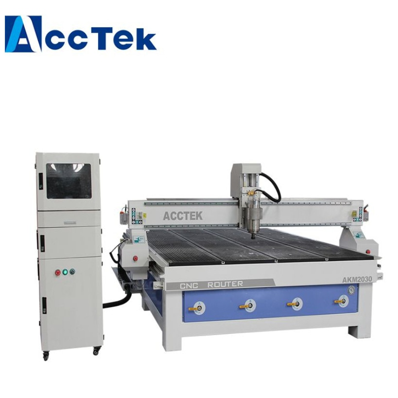 Деревообрабатывающее оборудование AKM 2030 2000*3000 мм фрезерный станок с ЧПУ для изготовления дверей мебели