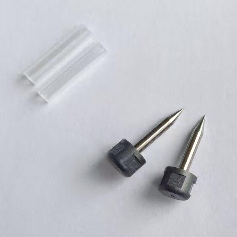 1 par de electrodos de ELCT2-12 para Fujikura FSM-11S/FSM-12S/11R/12R/21 S varilla de electrodo de empalmador de fusión de fibra óptica