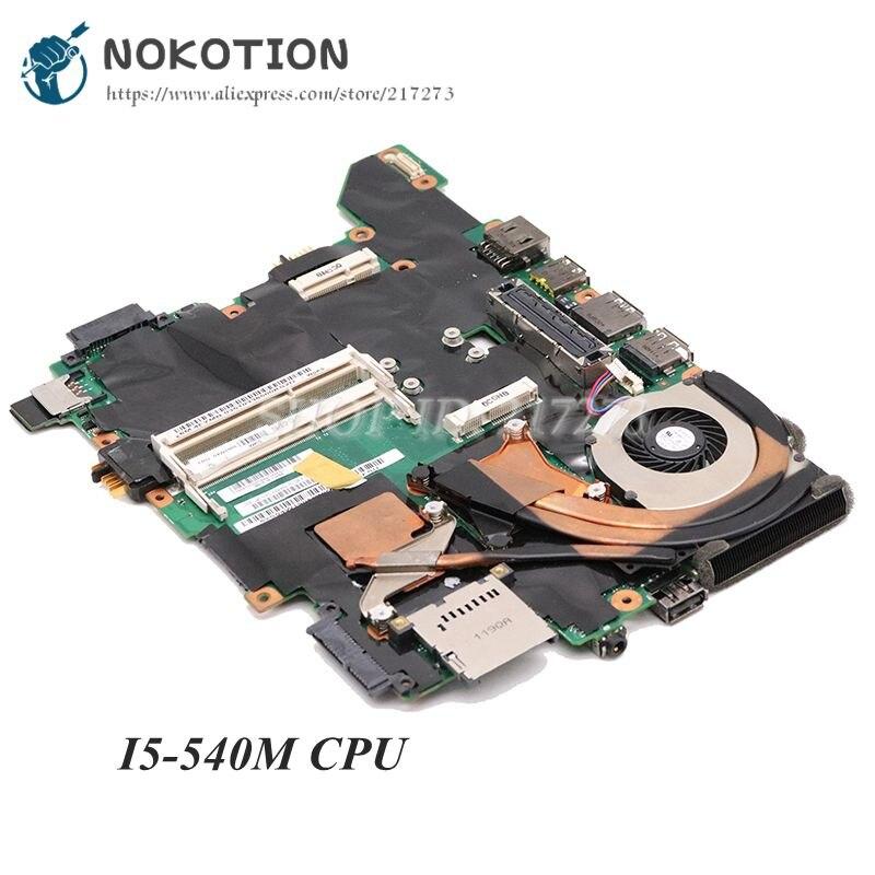 NOKOTION لينوفو ثينك باد T410I T410S T410SI اللوحة المحمول 04W1905 I5-540M CPU QS57 NVS 3100 M فيديو بطاقة