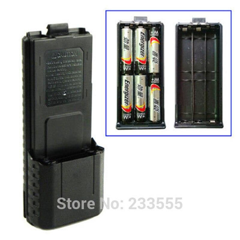 Novo pacote de caixa da bateria estendida para baofeng UV-5R UV-5RB UV-5RE UV-5RE + plus tyt TH-F8 TH-UVF9 TH-F8D TH-F9D
