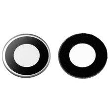 JEDX Original Camera Lens for Sony Xperia V LT25i LT26w Camera Glass Cover with Sticker Replacement Parts