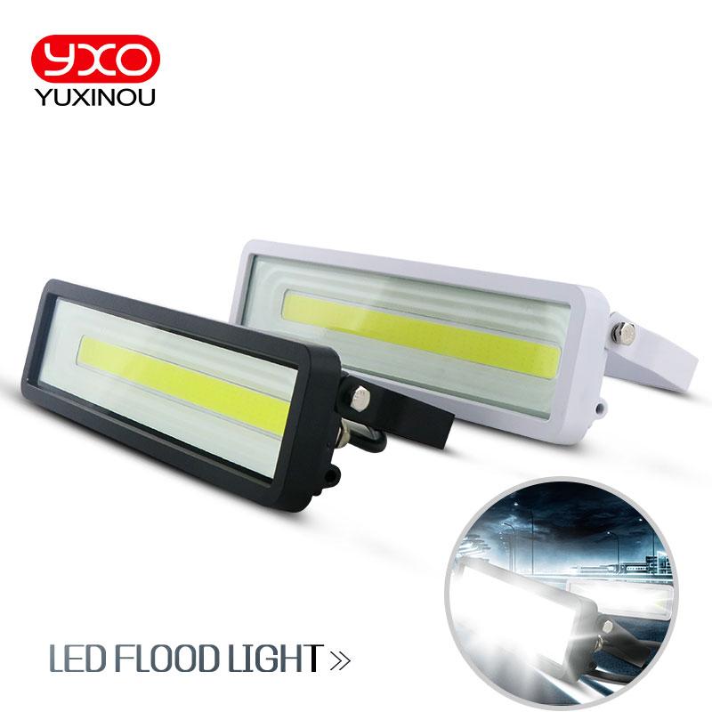 IP66 fixtures 50w 100w 150w 200w 250w 300w waterproof Landscape lamp housing Lighting solar sensor led flood light