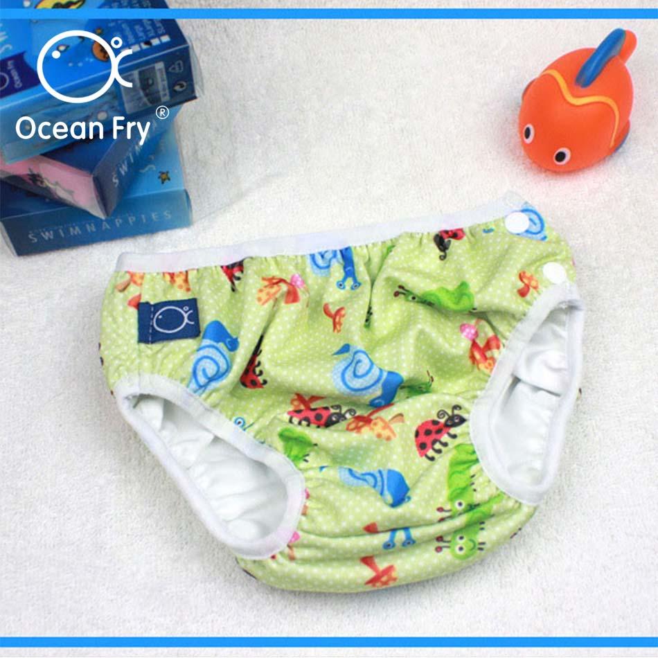 Детские непромокаемые подгузники, плавающие штаны для новорожденных, водонепроницаемые подгузники для младенцев, для мальчиков и девочек, ...