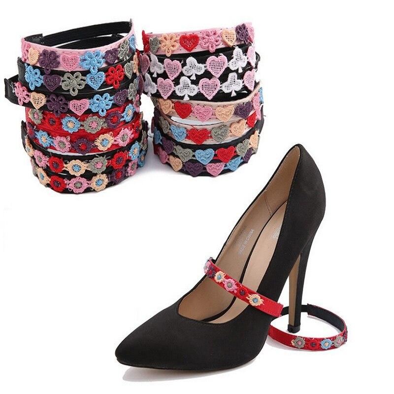 Sapatos de Camurça Pares Lote Mulher Nua Salto Alto Sandália Tornozelo Cinta Vestido Sapatos Sapato Rendas Blets Fazer Seus Caber Decoração 3 –
