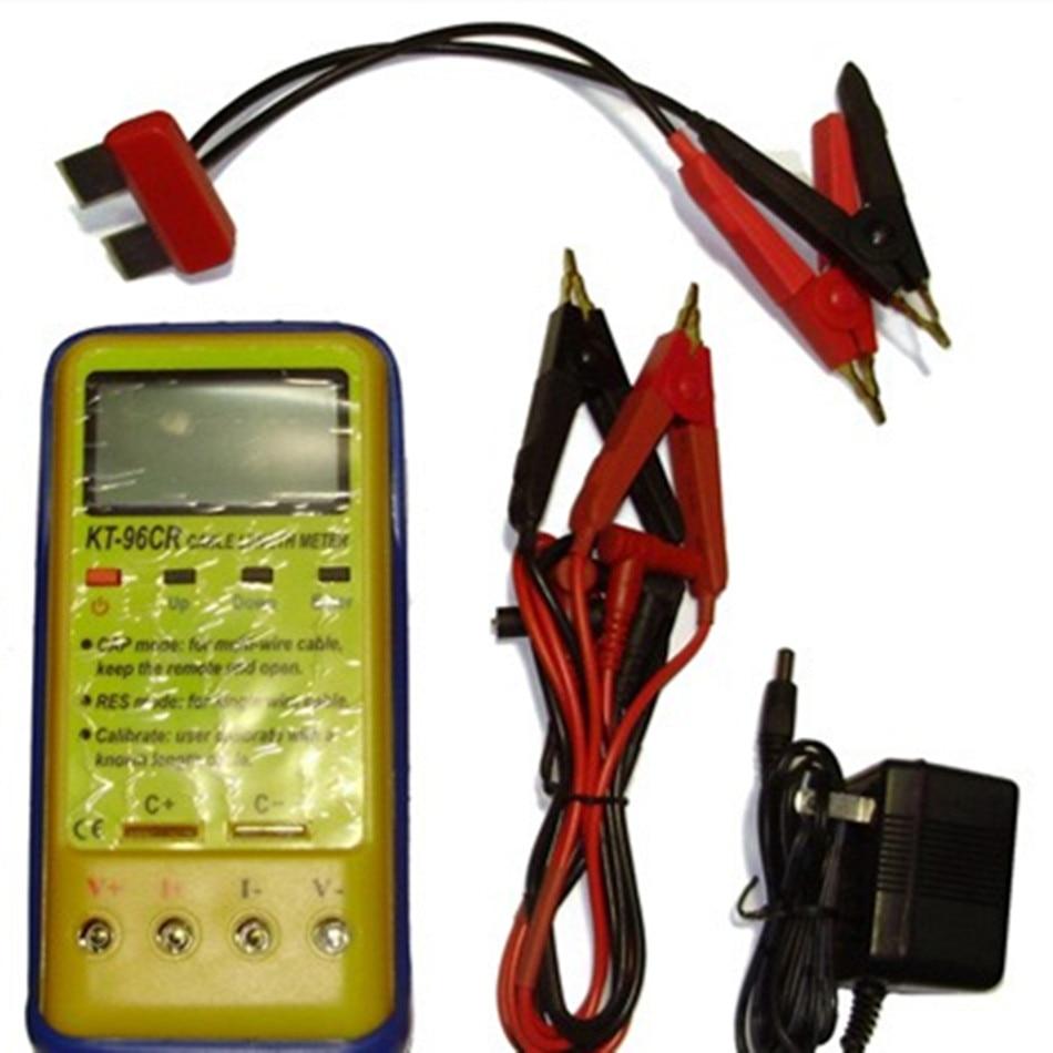 KT-96CR измеритель длины кабеля с тестовым режимом R & C электрическое сопротивление и измерение емкости функция самокалибровки