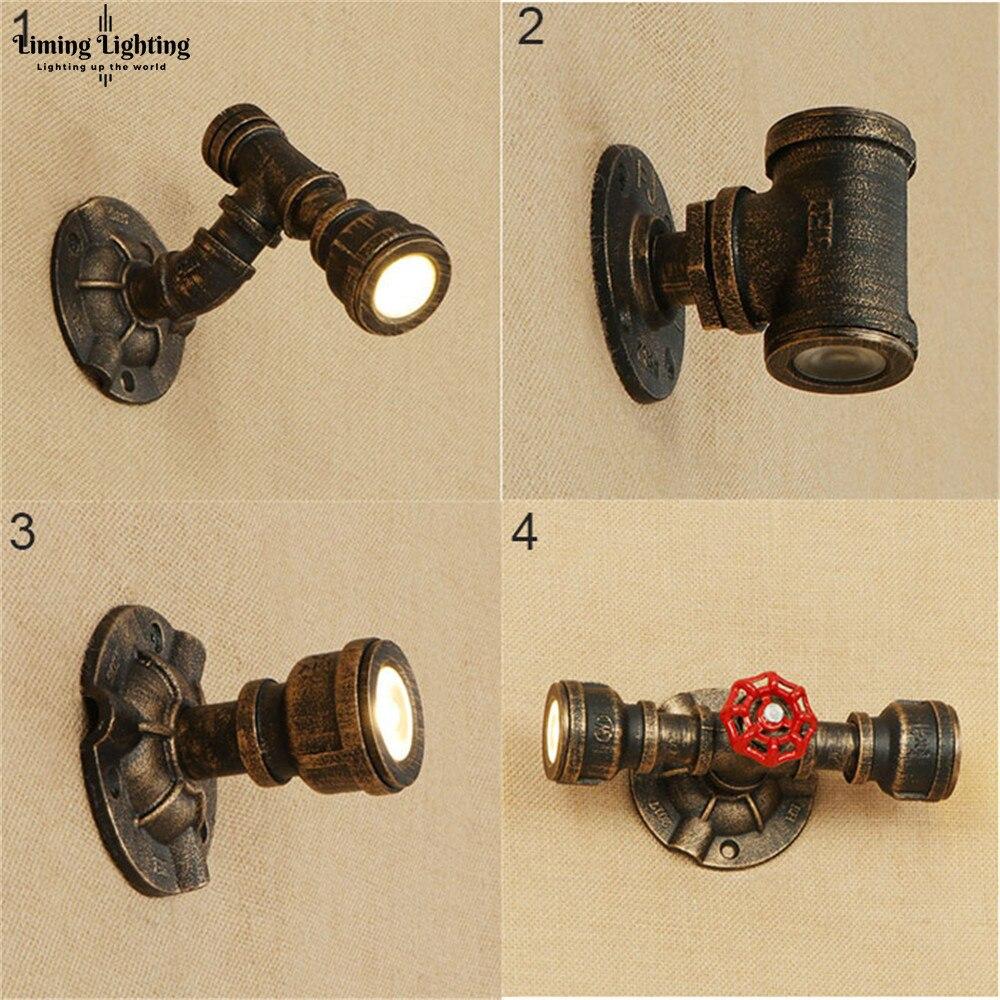 Lámpara De Pared industrial Retro, lámpara De Pared, lámpara De Pared, candelabro...