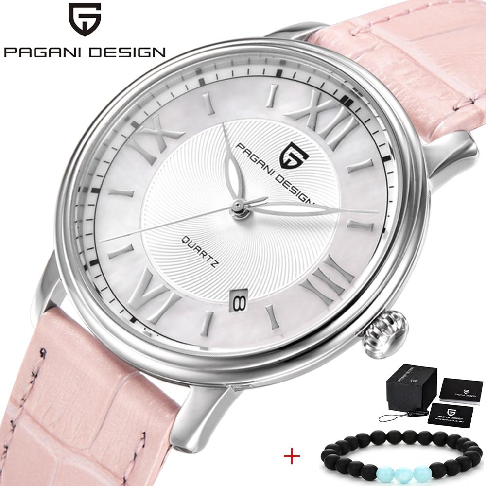 ¡Novedad de 2020! Reloj de acero para mujer, marca de lujo PAGANI, relojes de cuarzo para mujer, correas de reloj de cuero, los mejores regalos para amigas