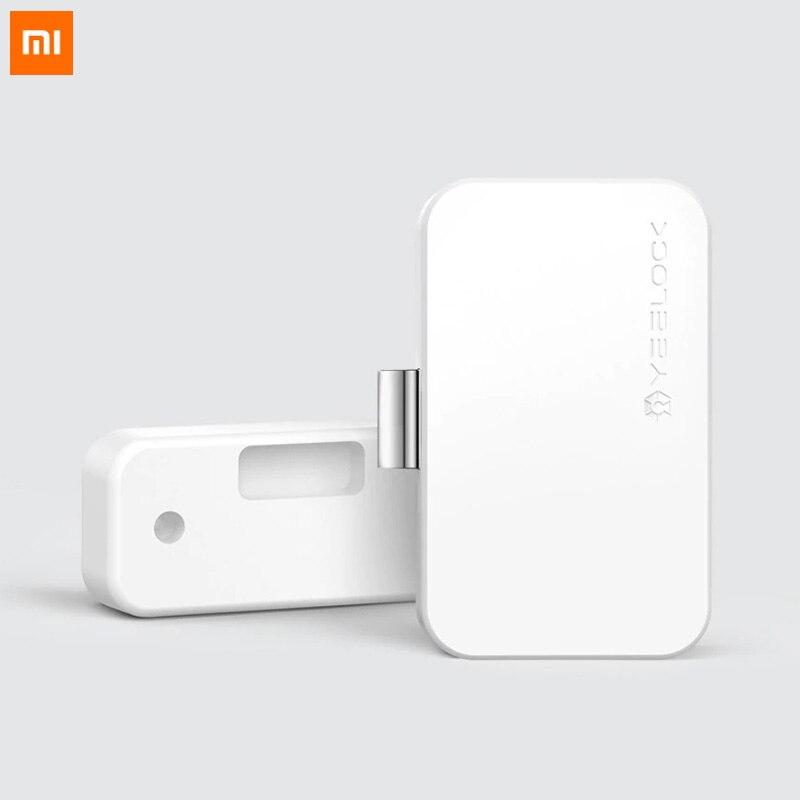 Оригинальный Xiaomi Yeeclock Умный Замок шкафа ящика без ключа Bluetooth удаленное приложение Разблокировка для защиты от кражи безопасности ребенка файл безопасности