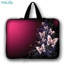 Чехол для планшета с принтом бабочки, мини ПК, чехол для ноутбука 9,7 10,1 11,6 13,3 15,6 17,3, ультрабук, защитный чехол, сумочка LB-5567