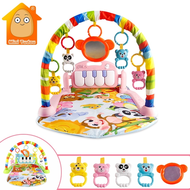 Baby Play Music Mat Carpet Toys Kid Crawling Play Mat Game Develop Mat with Piano Keyboard Infant Ru