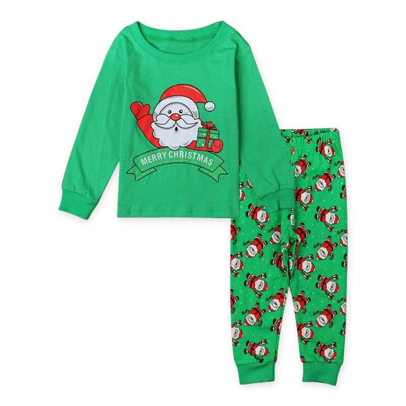 Pijamas de casa para niñas, ropa de dormir para niños, ropa de dibujos animados, conjunto de Pijamas de manga larga para bebés, ropa para el hogar para niños y niñas