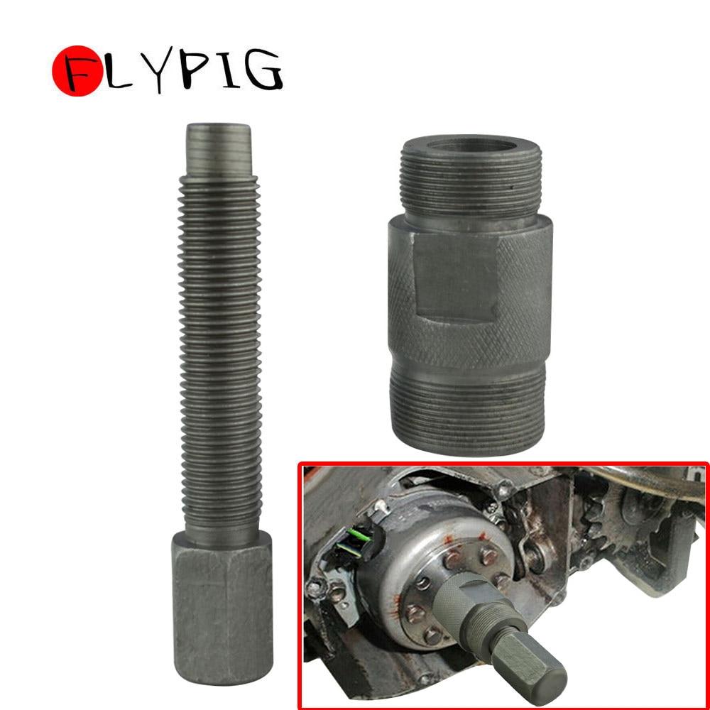 27MM LH Flywheel Puller Magneto Stator for Yamaha TT500 XT500 SC500 MX400 MX250 XT500 YZ250 YZ426 Engine Tool D10