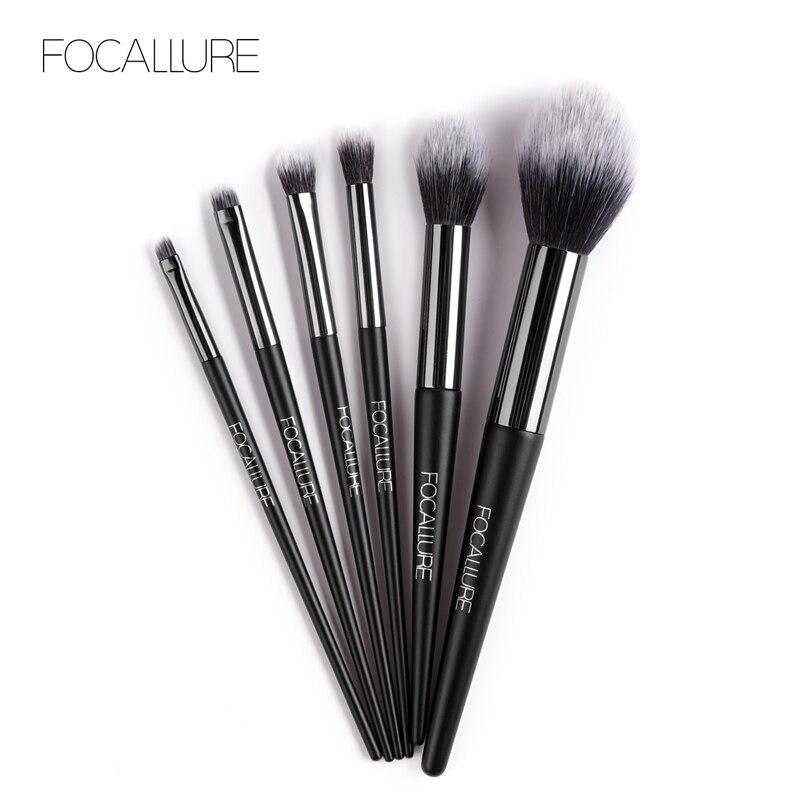 FOCALLURE Professional Makeup Brushes Eye Shadow Applicator Eyebrows Make Up Brush Tools
