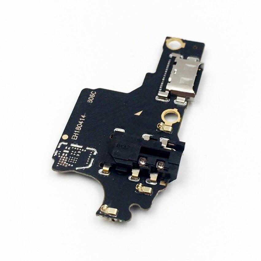 Conector de Porta Com Porta de Microfone USB Doca de Carregamento Cabo Flex Para Huawei Honor 10