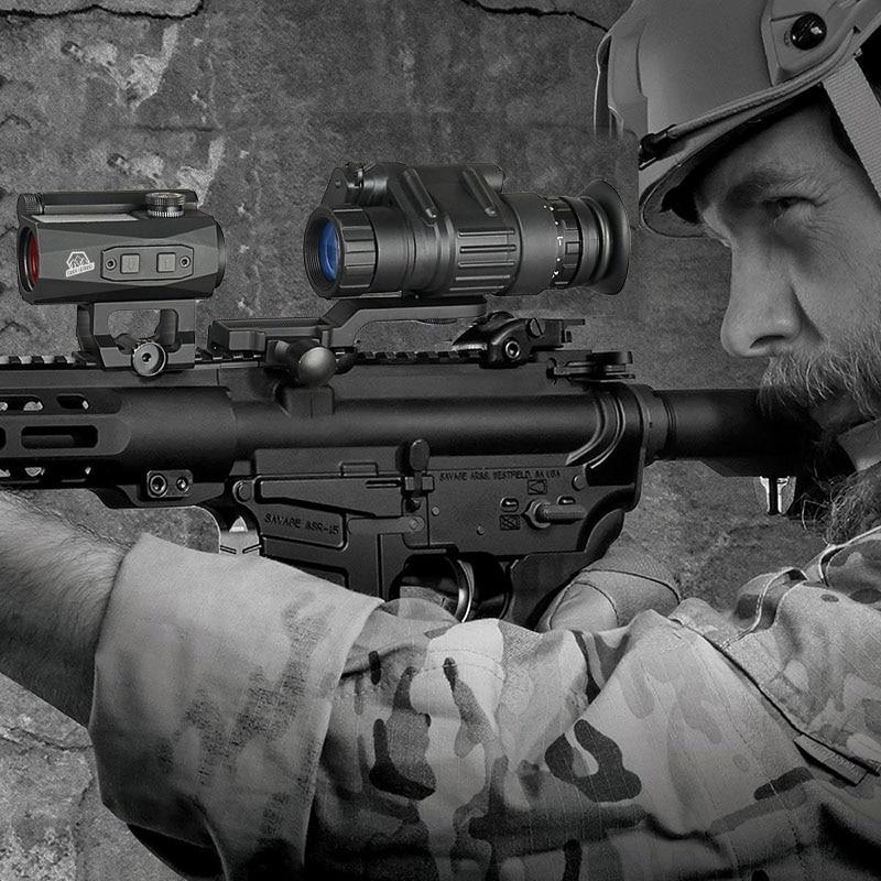 Eagleeye NVG PVS-14 стиль цифровой ночного видения для страйкбола Wargame Охота Черный загар Цвет PP27-0008